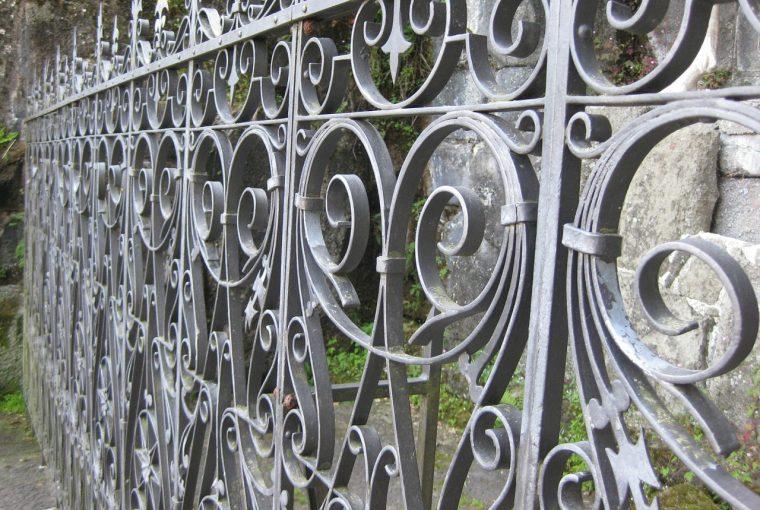 ประตูรั้ว เหล็กอิตาลี